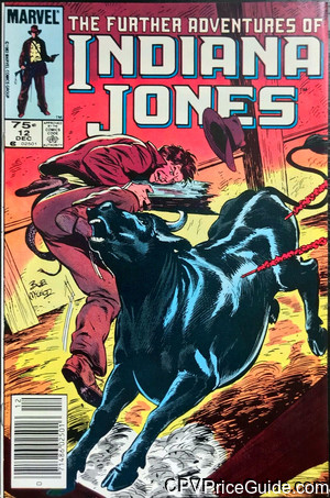 further adventures of indiana jones 12 cpv canadian price variant image