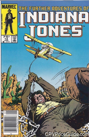 further adventures of indiana jones 13 cpv canadian price variant image