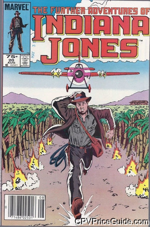 further adventures of indiana jones 20 cpv canadian price variant image