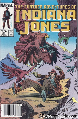further adventures of indiana jones 21 cpv canadian price variant image