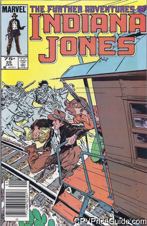 further adventures of indiana jones 25 cpv canadian price variant image