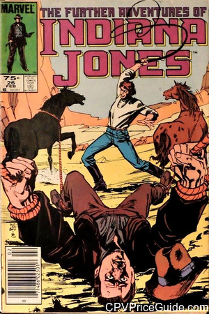 further adventures of indiana jones 26 cpv canadian price variant image