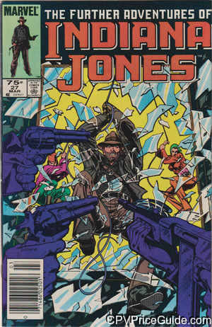 further adventures of indiana jones 27 cpv canadian price variant image