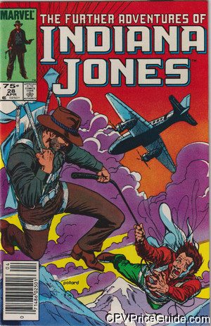 further adventures of indiana jones 28 cpv canadian price variant image