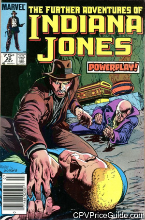 further adventures of indiana jones 30 cpv canadian price variant image