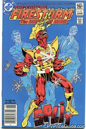 fury of firestorm 13 cpv canadian price variant image