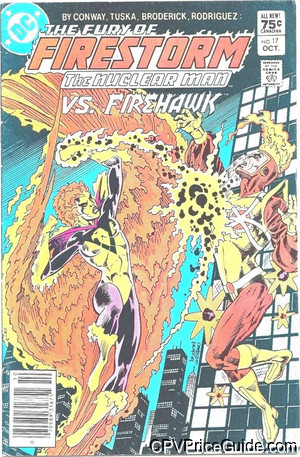 fury of firestorm 17 cpv canadian price variant image