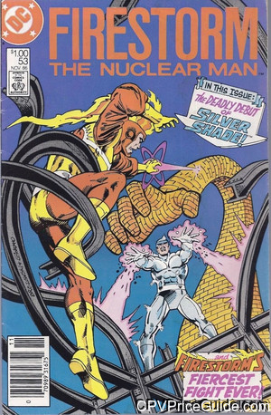 Fury of Firestorm #53 $1.00 Canadian Price Variant Comic Book Picture