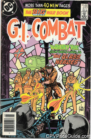 G.I. Combat #277 $1.60 Canadian Price Variant Comic Book Picture