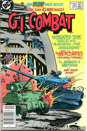 G.I. Combat #281 $1.60 Canadian Price Variant Comic Book Picture