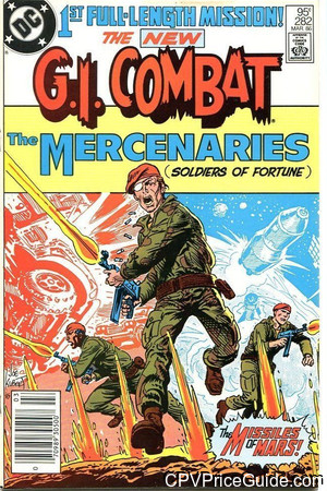 G.I. Combat #282 95¢ Canadian Price Variant Comic Book Picture