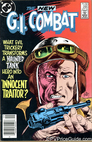 G.I. Combat #285 $1.00 Canadian Price Variant Comic Book Picture