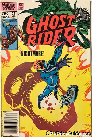 ghost rider 78 cpv canadian price variant image