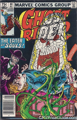 Ghost Rider #80 75¢ Canadian Price Variant Comic Book Picture