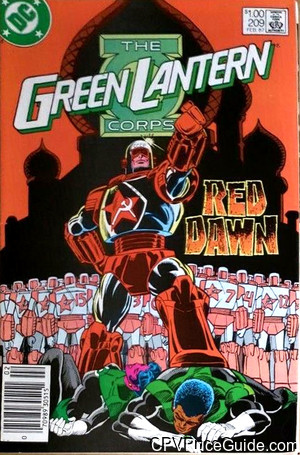 green lantern corps 209 cpv canadian price variant image