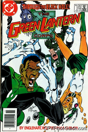 Green Lantern Corps #218 $1.00 Canadian Price Variant Comic Book Picture