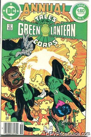 green lantern corps annual 1 cpv canadian price variant image