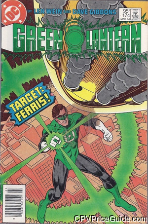 Green Lantern #174 95¢ Canadian Price Variant Comic Book Picture