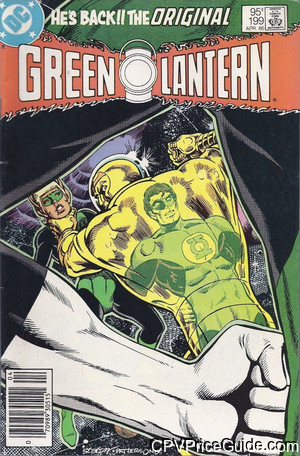 Green Lantern #199 95¢ Canadian Price Variant Comic Book Picture