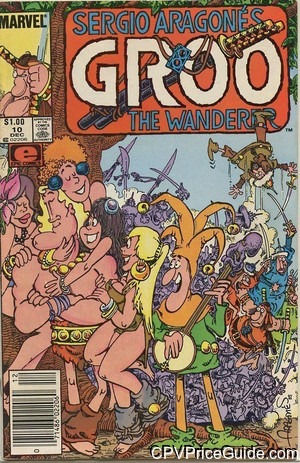 groo the wanderer 10 cpv canadian price variant image
