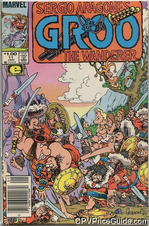 groo the wanderer 11 cpv canadian price variant image