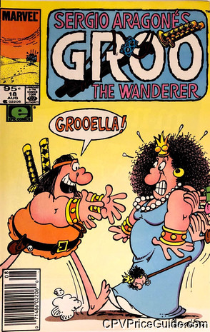 groo the wanderer 18 cpv canadian price variant image