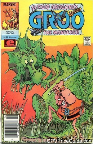Groo the Wanderer #2 $1.00 Canadian Price Variant Comic Book Picture