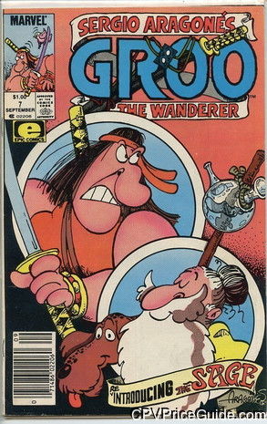groo the wanderer 7 cpv canadian price variant image