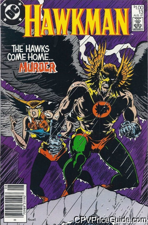 hawkman 13 cpv canadian price variant image