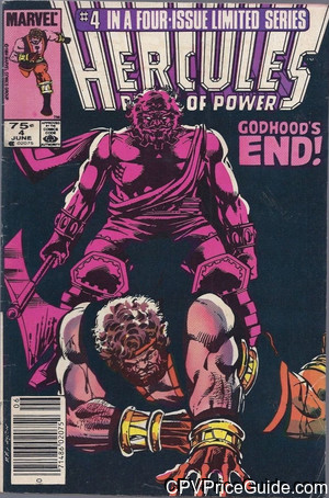 Hercules Vol 2 #4 75¢ Canadian Price Variant Comic Book Picture
