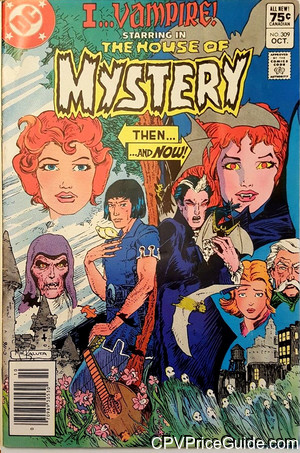 house of mystery 309 cpv canadian price variant image