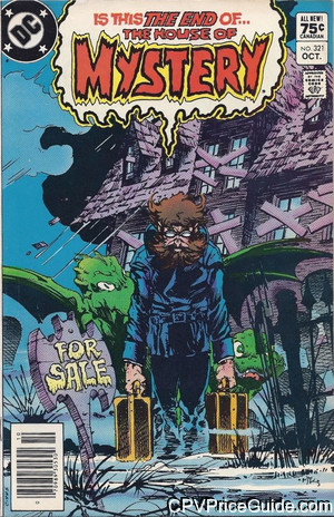 House of Mystery #321 75¢ Canadian Price Variant Comic Book Picture