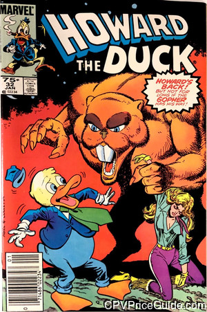 howard the duck 32 cpv canadian price variant image