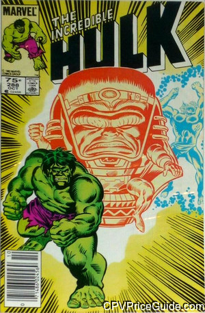 Incredible Hulk #288 75¢ Canadian Price Variant Comic Book Picture