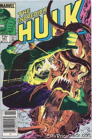 Incredible Hulk #301 75¢ Canadian Price Variant Comic Book Picture
