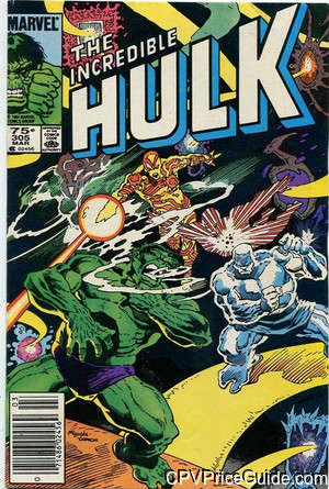 Incredible Hulk #305 75¢ Canadian Price Variant Comic Book Picture