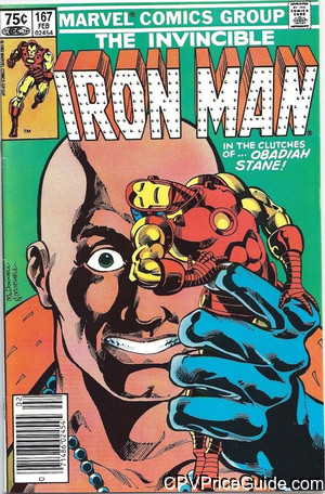 iron man 167 cpv canadian price variant image