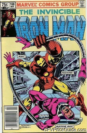 iron man 168 cpv canadian price variant image