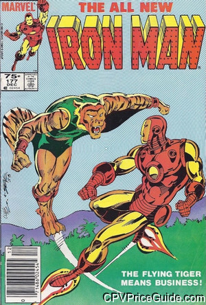 iron man 177 cpv canadian price variant image