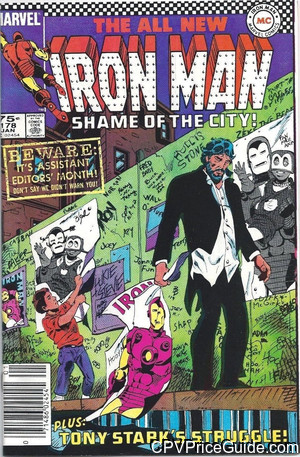 iron man 178 cpv canadian price variant image