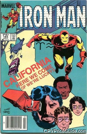 iron man 184 cpv canadian price variant image