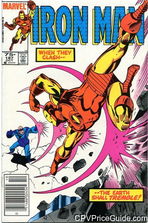 iron man 187 cpv canadian price variant image