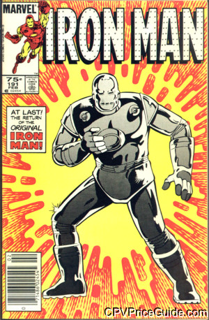iron man 191 cpv canadian price variant image