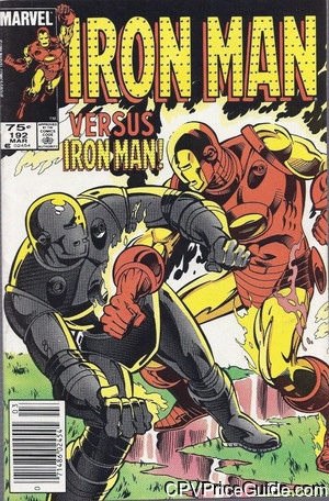 iron man 192 cpv canadian price variant image