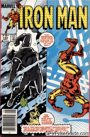 Iron Man #194 75¢ Canadian Price Variant Comic Book Picture