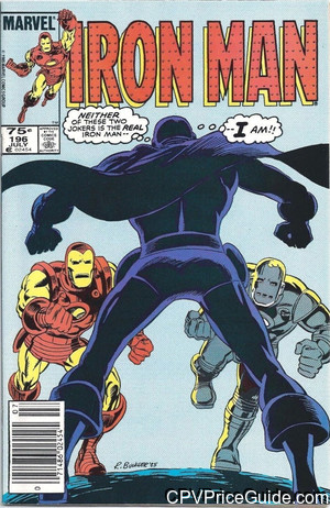 iron man 196 cpv canadian price variant image