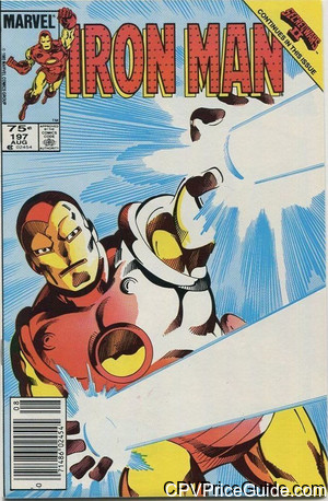 iron man 197 cpv canadian price variant image
