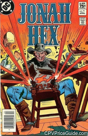 jonah hex 71 cpv canadian price variant image