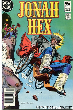 jonah hex 73 cpv canadian price variant image