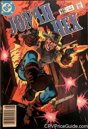 Jonah Hex #75 75¢ Canadian Price Variant Comic Book Picture
